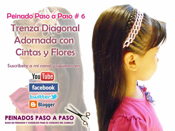 Videos de peinados paso a paso on Pinterest | Watches, Tejido and ...