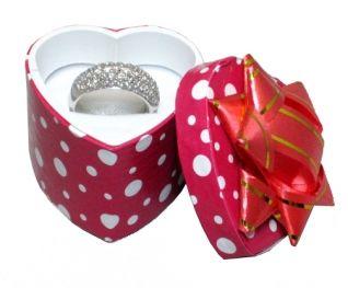 Polka Dot Assorted Ring Box    Price: $12.50/48pcs