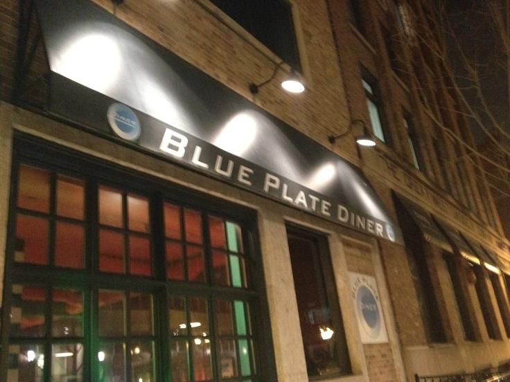 Eating My Way Through Edmonton: Blue Plate Diner