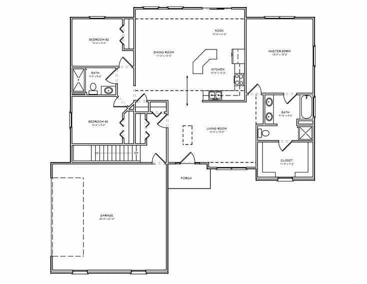 42 best one level floor plans images on pinterest | dream house