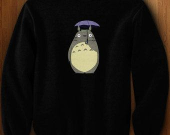 totoro sweater on Etsy, a global handmade and vintage marketplace.