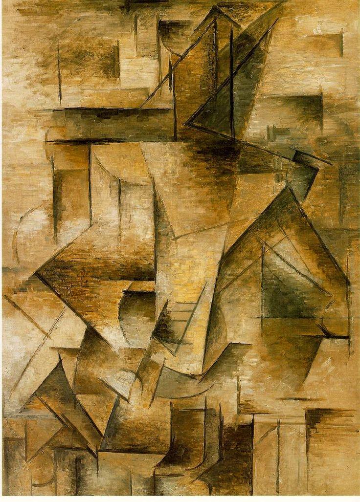 Cubism - Le joueur de guitare, P. Picasso.