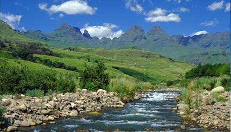 The Drakensburg Mountains, KwaZulu Natal