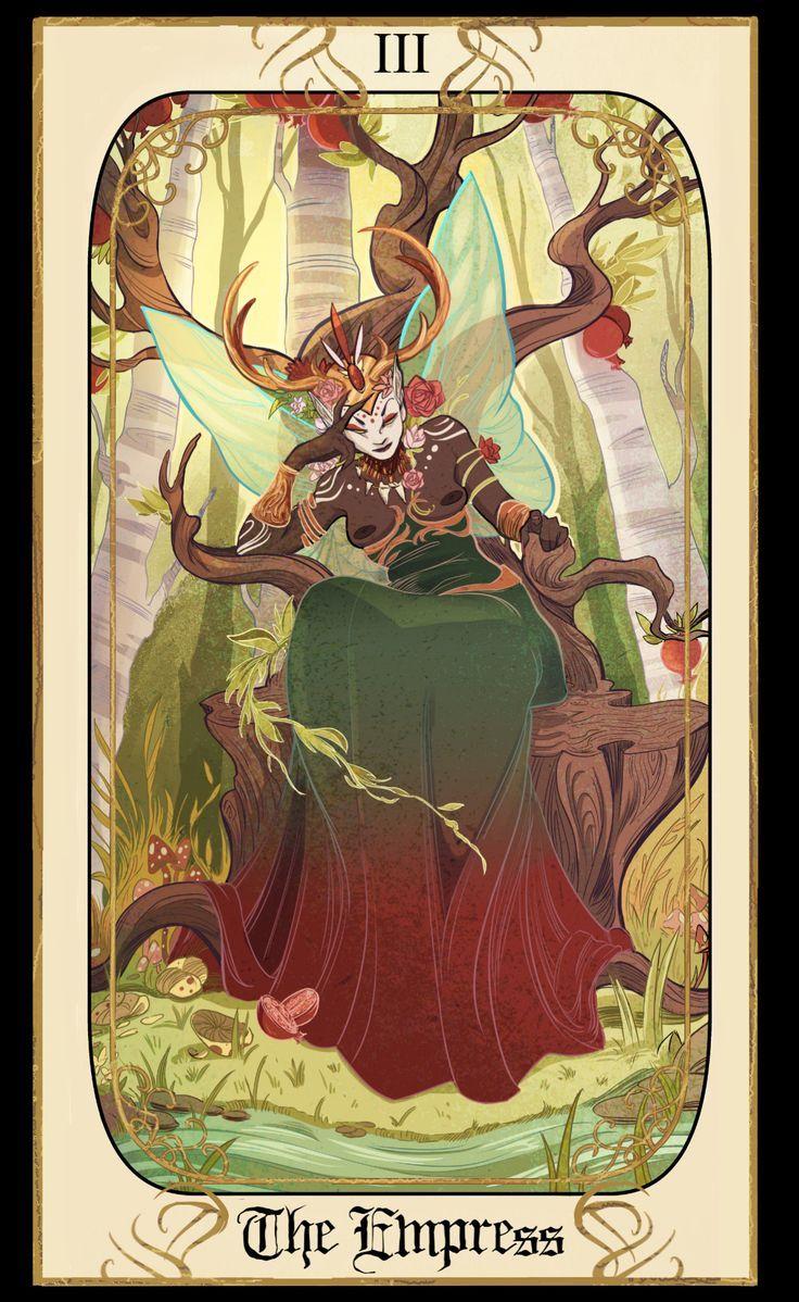 Artstation old tarot card designs alexandria