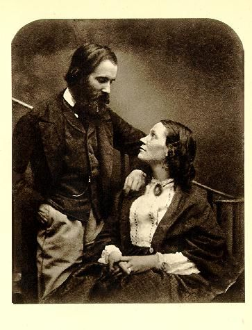 Alexander & Mary Munro, photographed in 1863 by Charles Dodgson (aka Lewis Carroll). Alexander was a popular Pre-Raphaelite sculptor.