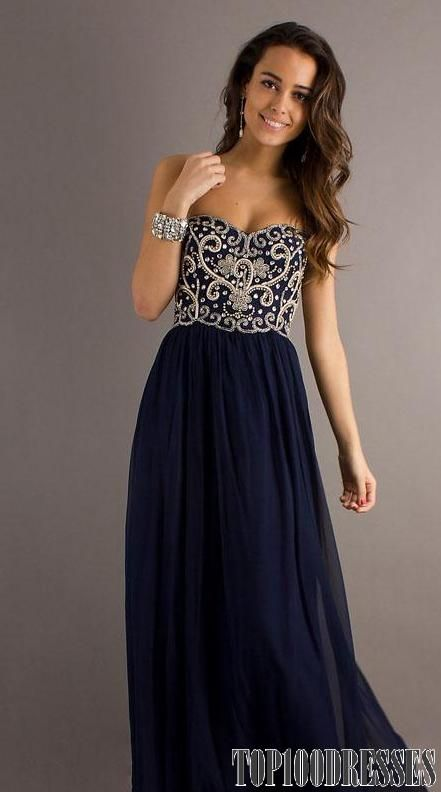 Freaking hate the over done poofy prom dresses. go for class and actually be able to sit and dance! aka loving this.