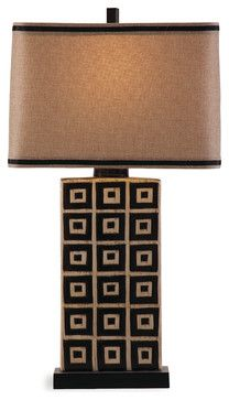 Lakota Table Lamp - southwestern - Table Lamps - BASSETT MIRROR CO.