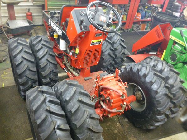 Home Built Articulating Garden Tractor : Best images about homemade tractors on pinterest