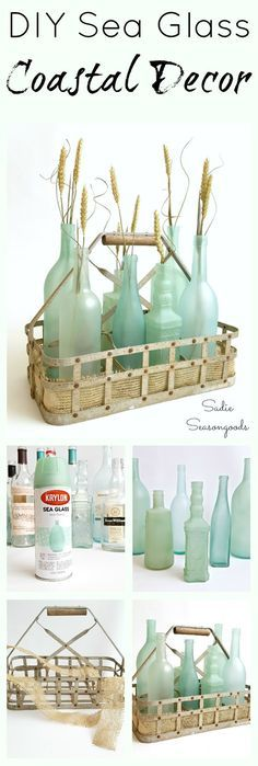 We were amazed when we discovered what can be done with spray paint, ugly and old stuff become gorgeous in minutes. Here we brought you some tutorials to make things around your home look amazing.