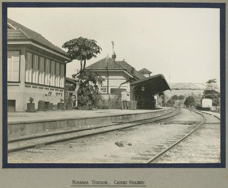 StateLibQld 1 242476 Kuranda Railway Station - Kuranda Scenic Railway - Wikipedia, the free encyclopedia