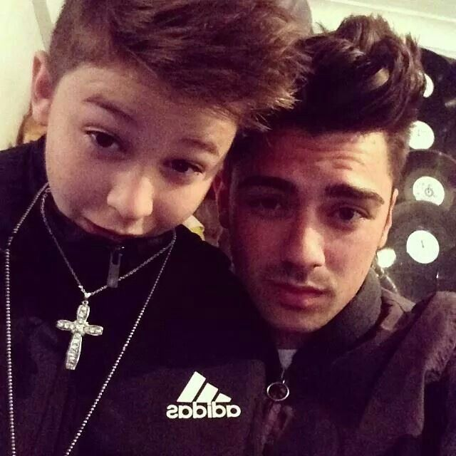 Joey Devries with his brother leondre from the duo bam