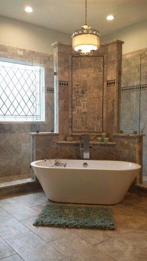25 best walk through shower ideas on pinterest for Walk through shower plans