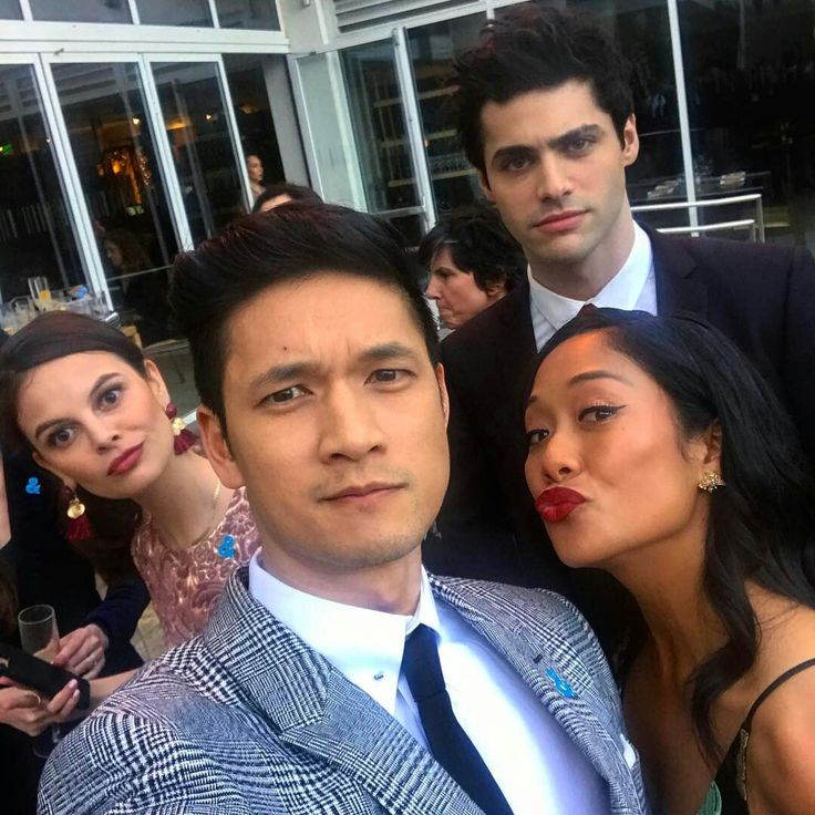matthew daddario, harry shum jr, esther kim, shelby rabara