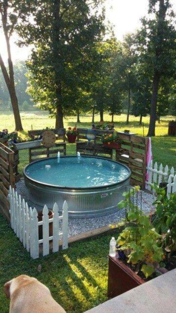 Stock Tank Swimming Pool Salt Water