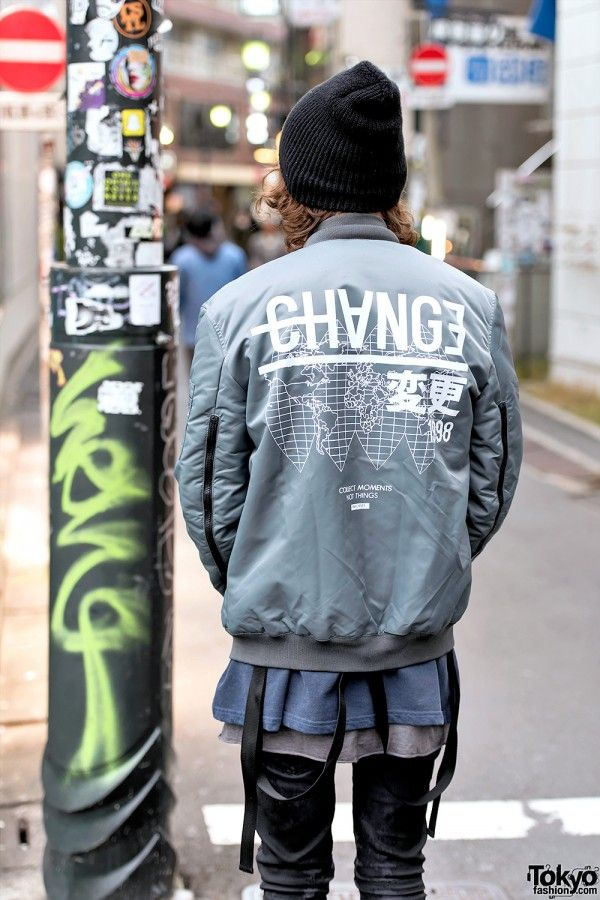 "port-or: "" Porter & little brother Mark display their street fashion in Harajuku. (x) """