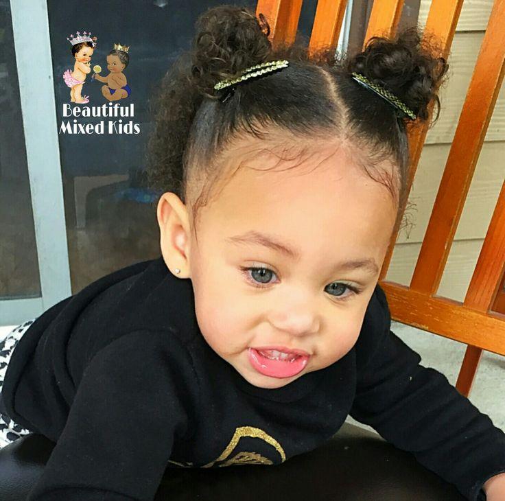 Karter Jade - 1 Year • Mom: African American & Caucasian • Dad: African American ❤