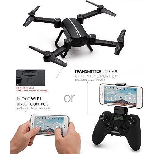 Drone RC Quadcopter FPV Video WIFI 720P HD Camera Altitude Hold Headless RTF 3D #DroneRCQuadcopter