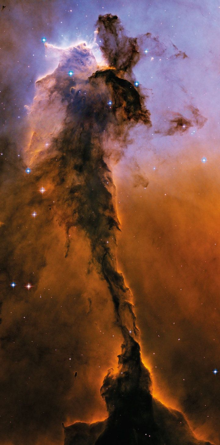 M16 Eagle Nebula, classification: Star-forming Nebula, position: 18h 18m, –13°, 49' (Serpens), distance from earth: 6,500 ly, instrument/year: ACS/WFC, 2004