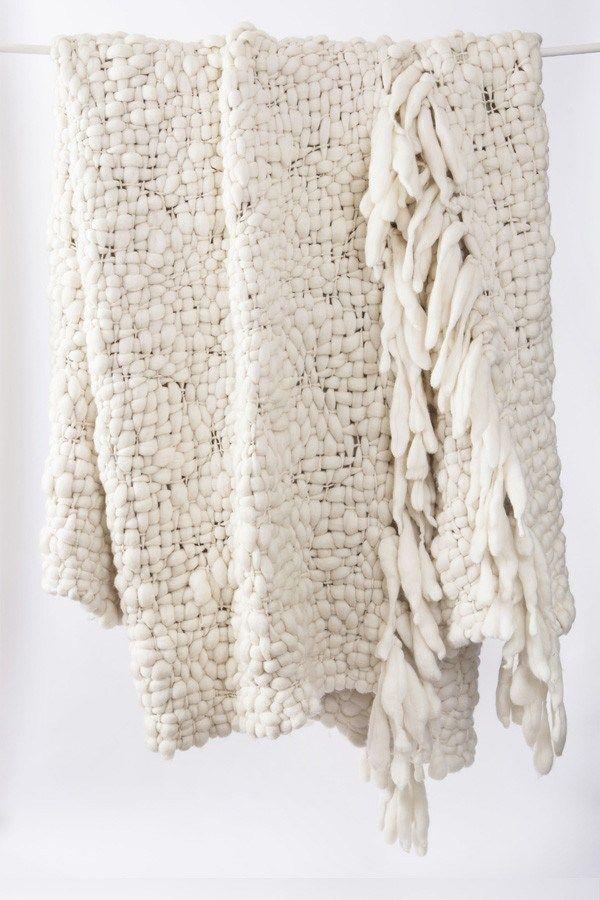 17 Best images about Giant Wool Blanket - Knitting on Pinterest Rag rug tut...