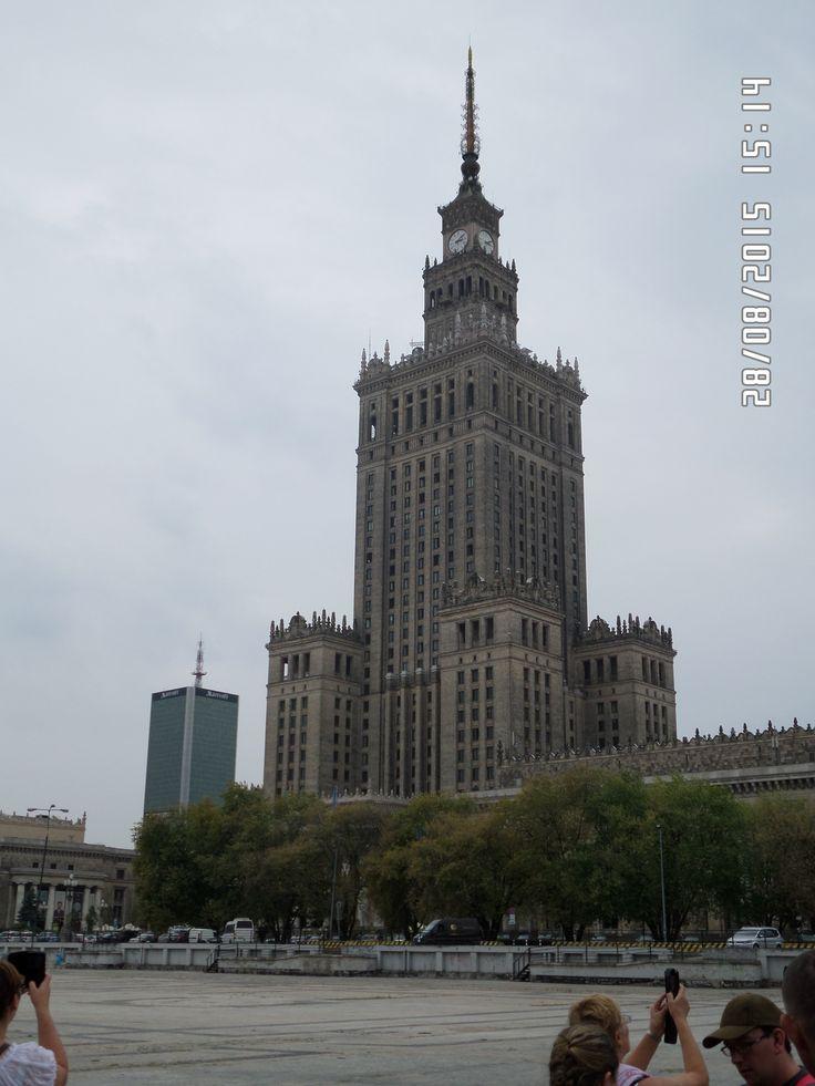 PALAC KULTURY WARSZAWA