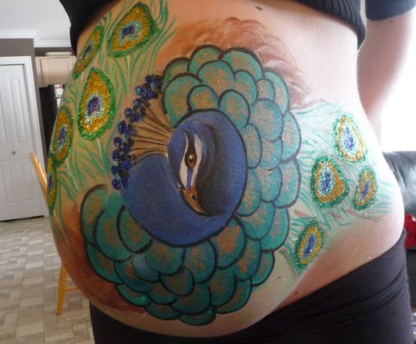 1000  Images About Baby Bump Painting On Pinterest