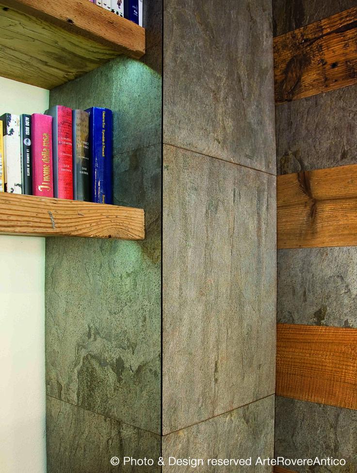 ... Casa Legno e Pietra - Riva di Pinerolo - Italy - Wood Interior Design