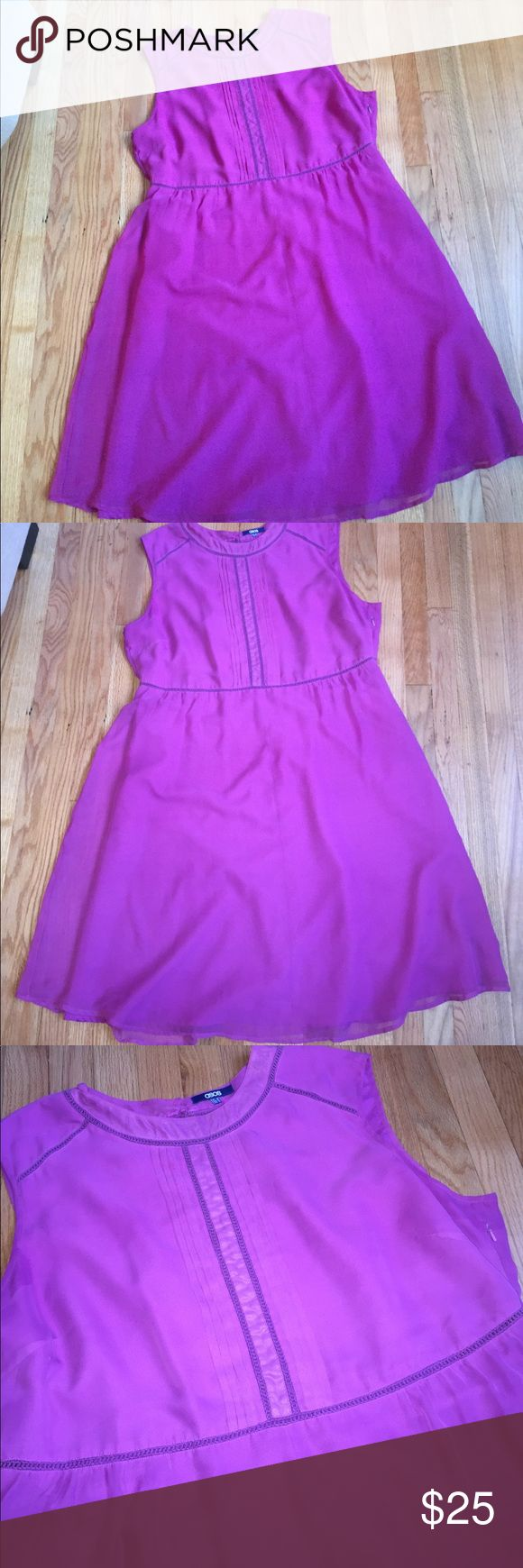 Plus size Asos Curve dress Fuschia Asos Curve dress. Size 22. ASOS Curve Dresses