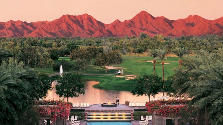 Play a round of golf against a beautiful backdrop at the Gainey Ranch Golf Club in Scottsdale!