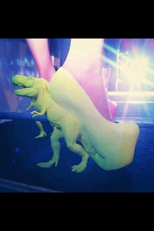 Coolest shoes for a drag queen ever!!!