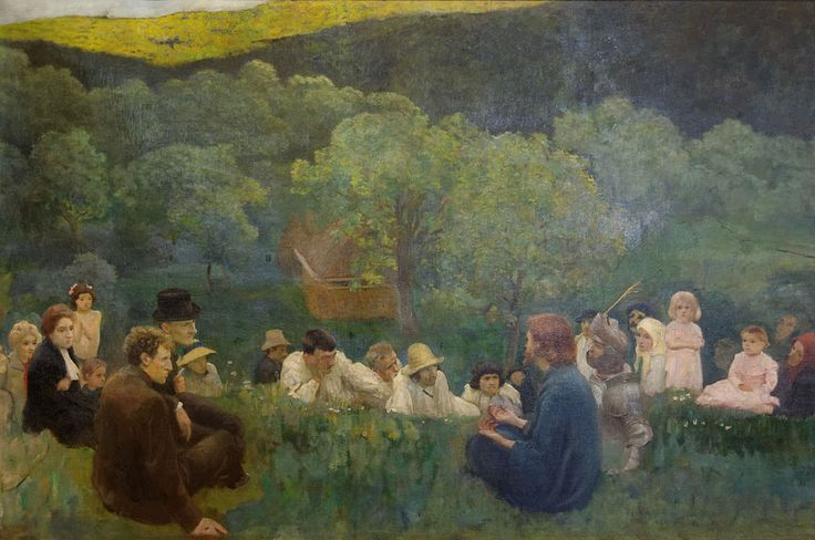 The Sermon on the Mount Károly Ferenczy - Károly Ferenczy
