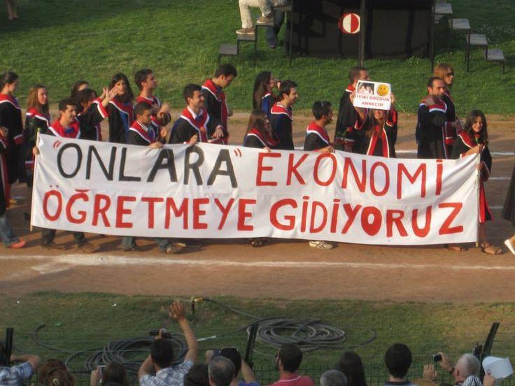 ODTÜ 2013 mezunlarından Taksim Gezi Parkı tepkisi