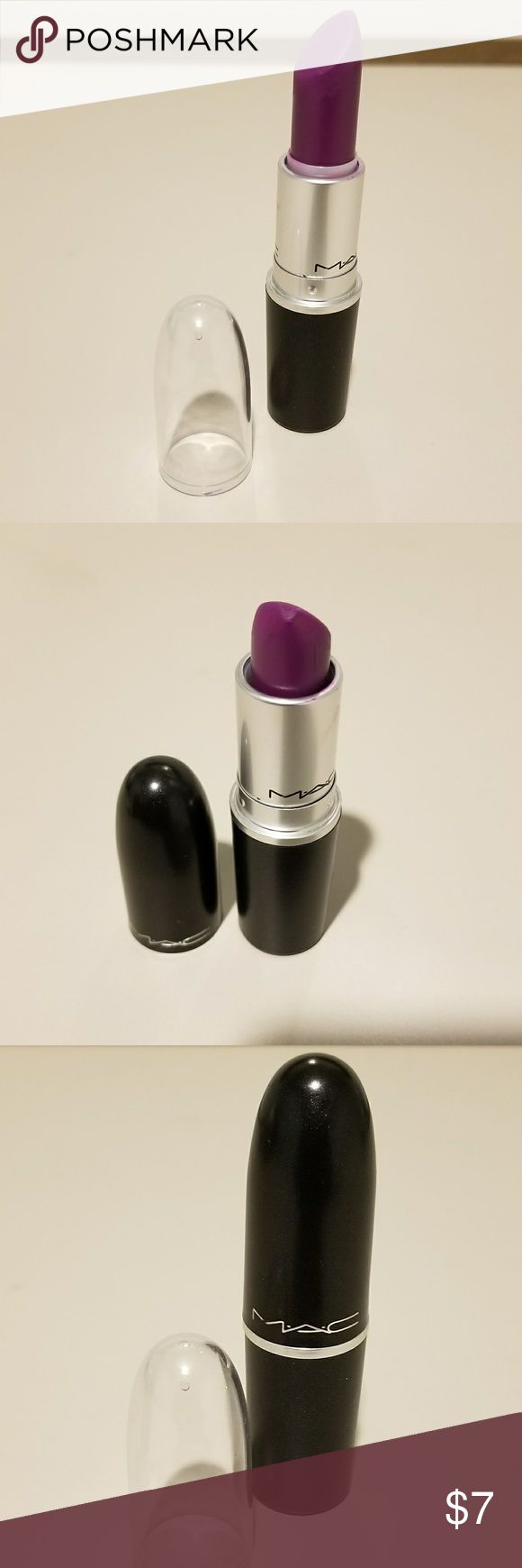 MAC: Lipstick Heroine MAC: Lipstick Heroine    Authentic. Used; see pictures for condition & product use; No box. Clear cap & original MAC cap included.     Purchased from MAC    No Trades, holds, ads for other sites or price negotiation in comments.  Please submit reasonable offers through Offer button or using Bundles.  Thank you! MAC Cosmetics Makeup Lipstick