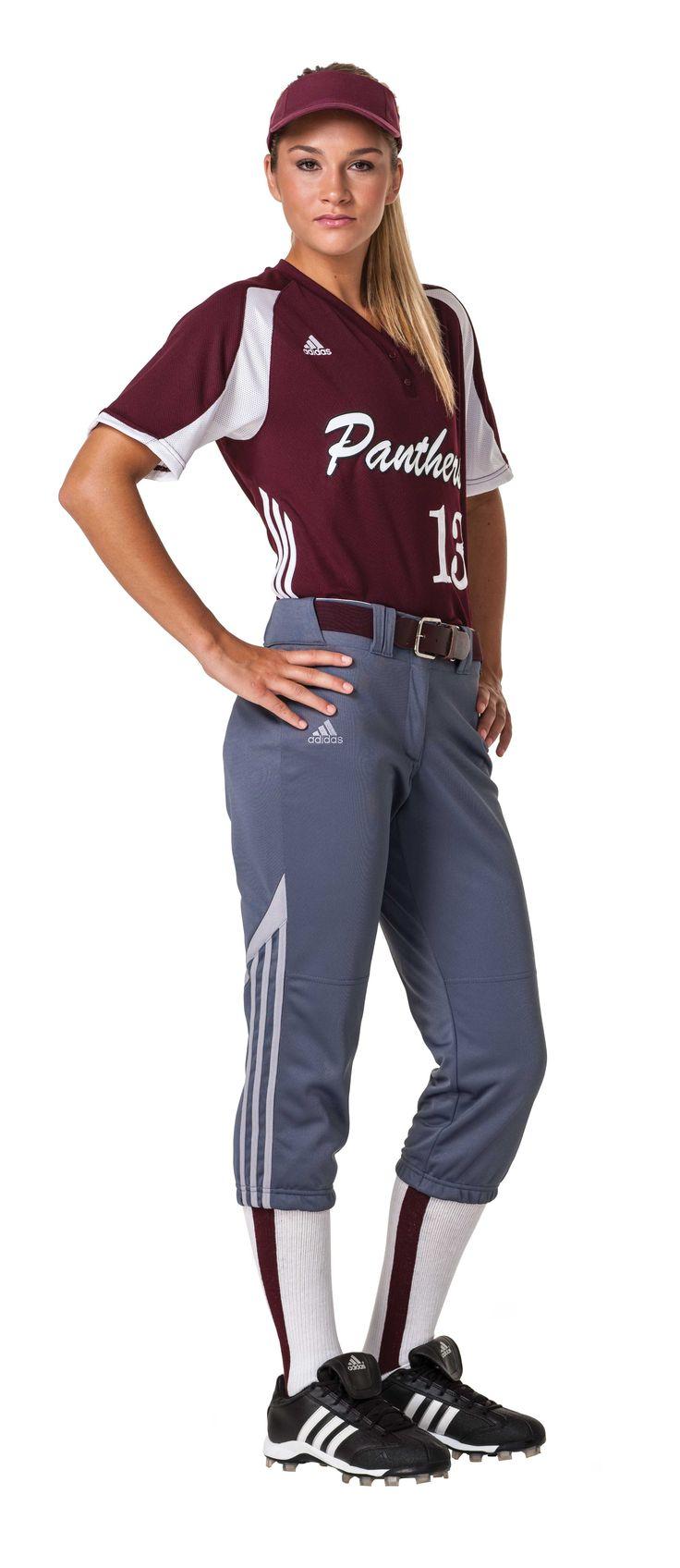 Adidas Diamond Queen Jersey and Pant #Softball #Fastpitch #women #girl #uniform #jersey