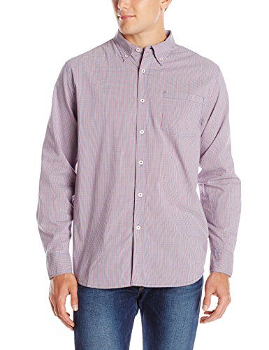 Mountain Khakis Mens Uptown Tattersall Shirt Ruby Large -- Visit the image link more details.(This is an Amazon affiliate link and I receive a commission for the sales)