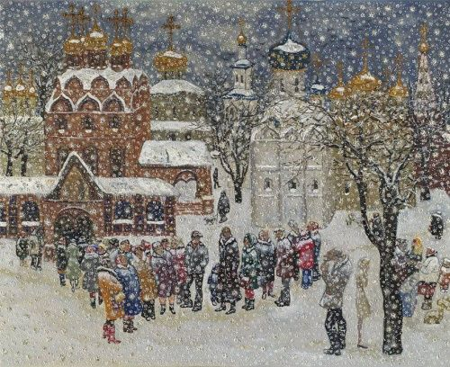 Художник Василий Яковлевич Ситников (19 фото)