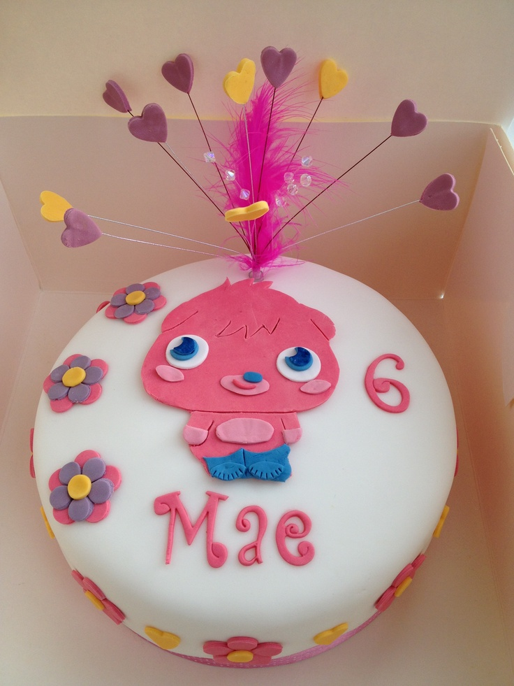 Cake Decorating Carmarthen : Moshi monster  Poppet  cake. Birthday cake ideas ...