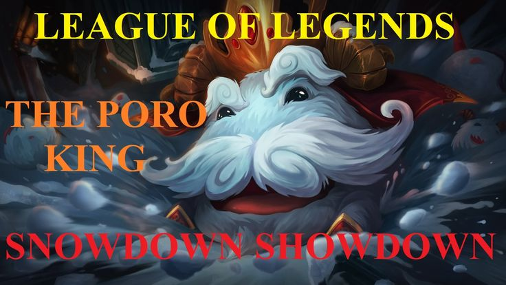 "League of Legends: ""Snow Day Ziggs"" - ""Snowdown Showdown"" - ""The Poro King"""