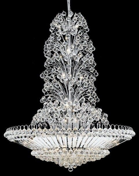 71 best Chandeliers images on Pinterest | Crystal chandeliers ...