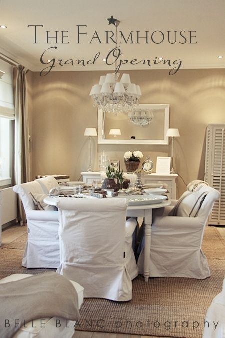 lovely comfy chairs in this dining room