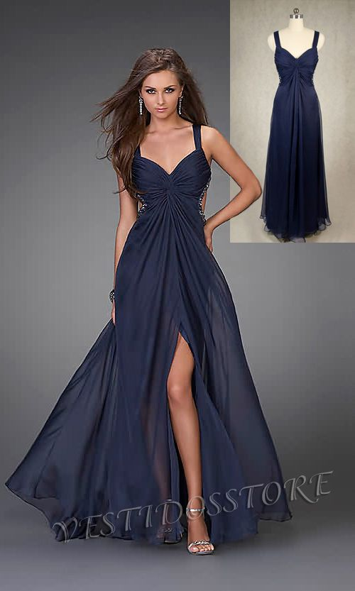 Vestidos de fiesta largos, son más formales y más usados en las fiesta y los bailes de noche. Si eres una chica moderna, necesita un vestido de fiesta largo barato y bonito.