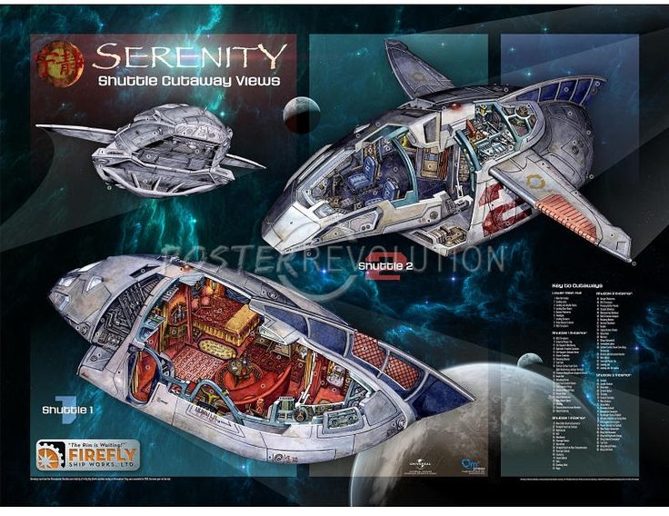 Firefly - Serenity - Inara's shuttle