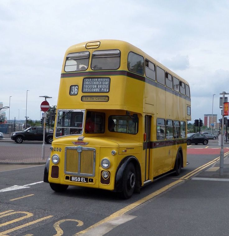 Leyland bus from Bournemouth Corporation Transport.