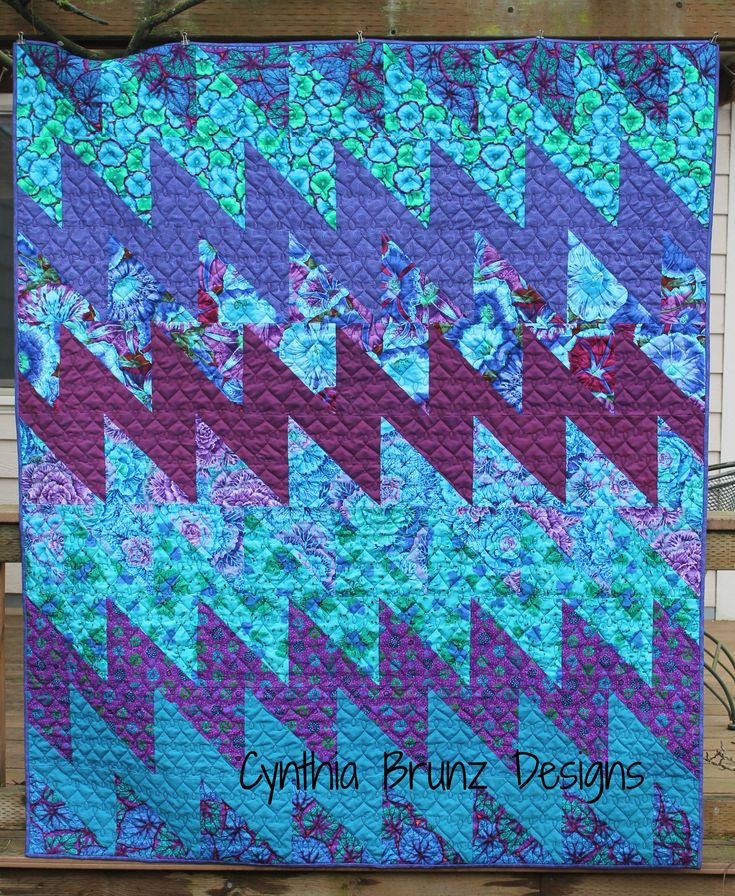 All That Jazz quilt pattern by Cynthia Brunz Designs.