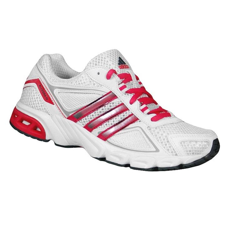 Adidas ALLEGRA Buty do biegania Adidas, przygotowane specjalnie dla kobiet. Materiały zapewniające wygodę, komfort i trwałość. Przewiewny meshowy wierzch.  Amortyzujący system adiPRENE. Trwałość dzięki systemowi adiWEAR