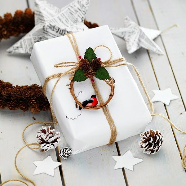 306 best holiday christmas gift wrap images on pinterest for Wrapping present ideas for christmas