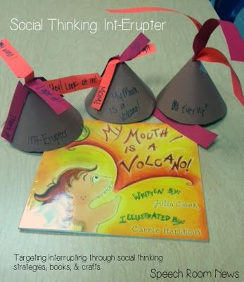 Speech Room News: Int-Erupter {Social Thinking Activities} Pinned by SOS Inc. Resources. Follow all our boards at pinterest.com/sostherapy for therapy resources.