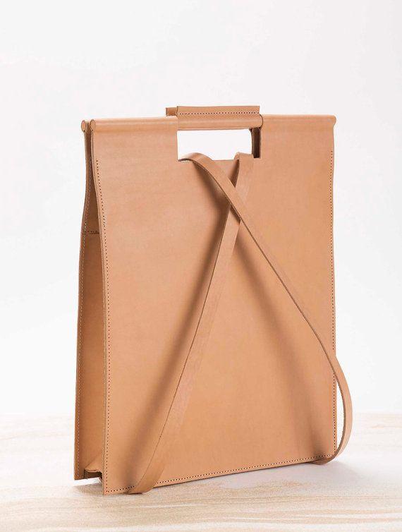 Leather Statement Clutch - BW Strips by VIDA VIDA uZYYj4Md