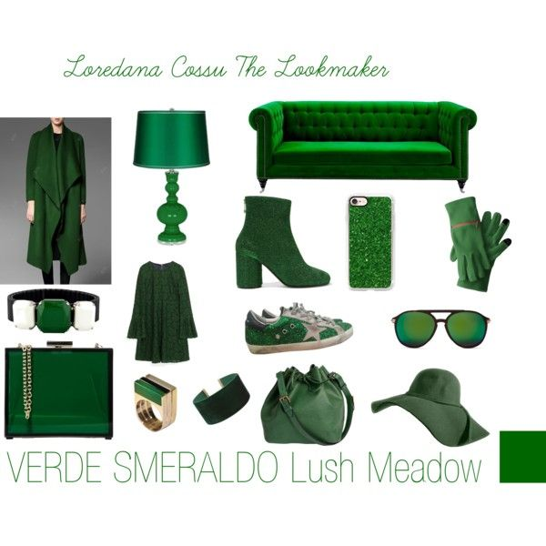 Lush Meadow VERDE SMERALDO by loredanacossu on Polyvore featuring polyvore, fashion, style, Maison Margiela, Golden Goose, Oui, Odile!, Louis Vuitton, Isabel Marant, ALDO and Casetify