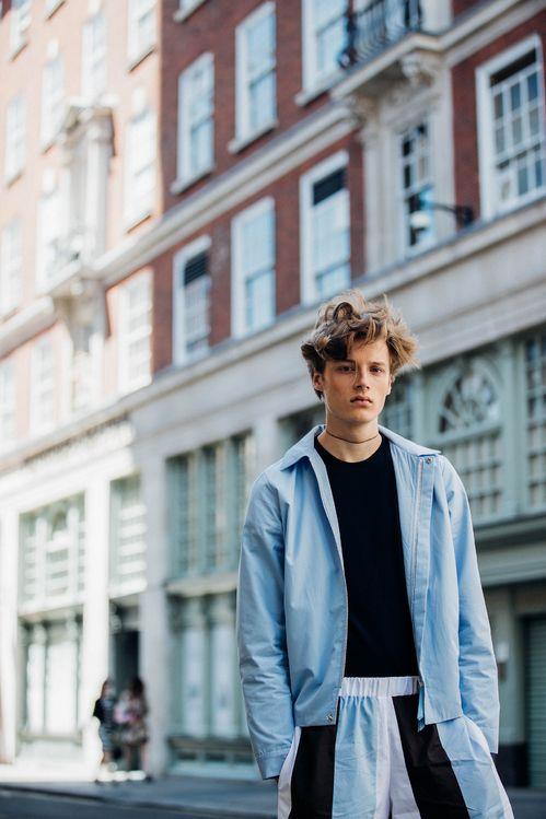 Street style à la Fashion Week homme printemps-été 2018 de Londres   Vogue