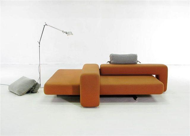 Sofa Bibik Loft. Projekt: Renata Kalarus. Zdjęcie: Michał Korta.